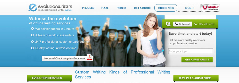 Top 5 essay writing services