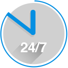 Contact our service 24/7